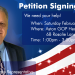 ALERT! Petition Signing Event – Saturday Feb. 15th
